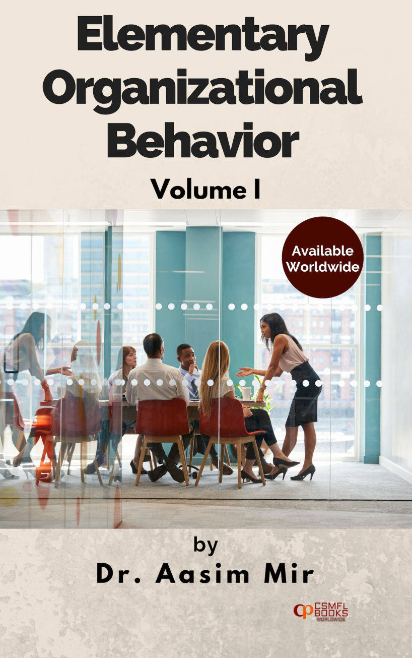 Book | Elementary Organizational Behavior | CSMFL Publications