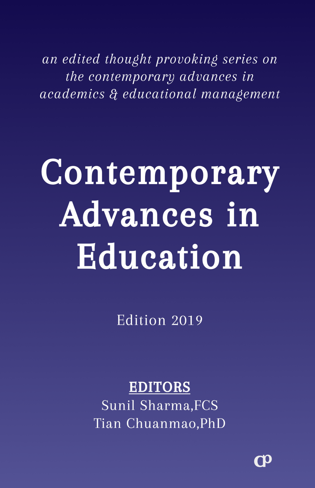 Contemporary Advances in Education | Edition (2019) by CSMFL Publications
